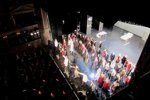 """Großer Applaus für das """"La Traviata""""-Ensemble"""