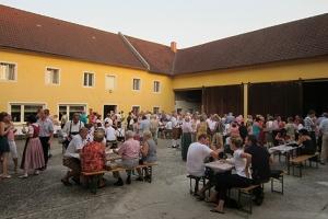 Konzertpause im Hartlauerhof