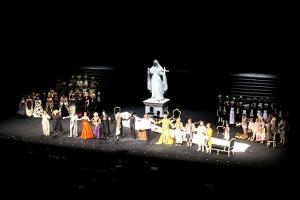 Großer Applaus für das Salzburger Jedermann-Ensemble