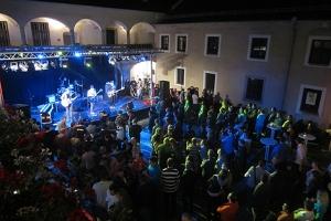 Der Ennser Museumshof als Festivallocation.