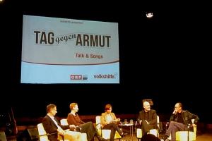 Kurzweiliges Gespräch mit Marterbauer, Misik, Hamann und Fenninger.