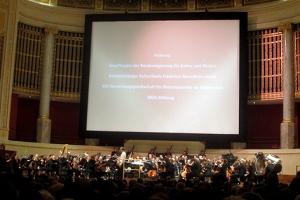 Kino im Konzerthaus: Das Tonkünstler-Orchester lieferte den Soundtrack zu Metropolis.