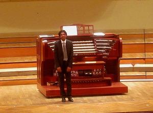 Jubel und Applaus: Jeremy Joseph, der südafrikanische Organist, begeisterte im Konzerhaus.