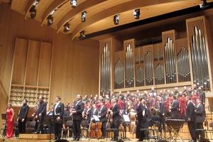 Standing Ovations für das Solomon-Ensemble