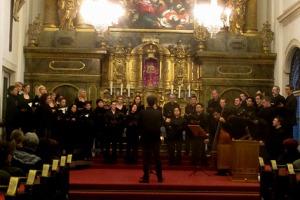Viel Applaus für Marco Paolacci in der St. Ursula Kirche.