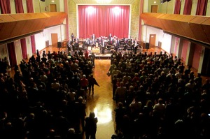 Standing Ovations nach 2,5 Stunden Konzert!