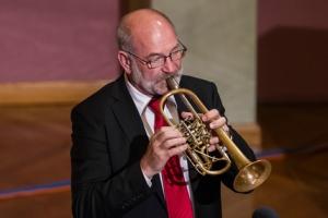 Hans Gansch beim Hummel-Konzert.