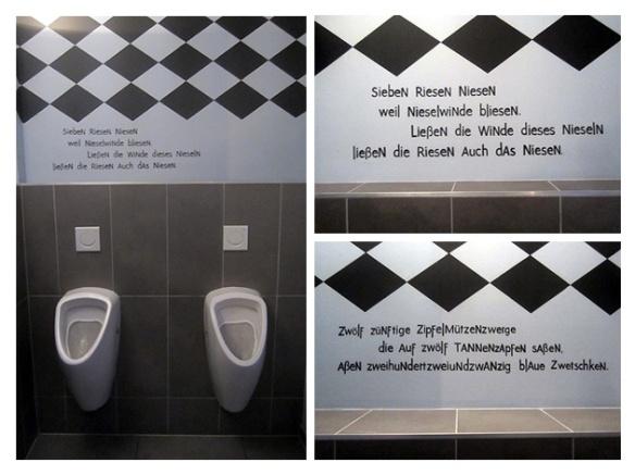 WC Sprüche