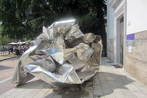 Ohne Titel, 2013, 300x300x400, Aluminium