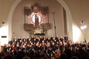 Mozarts c-Moll-Messe in der Kirche Langenhart