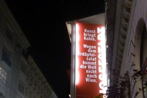 ...aber wegen Otto Schenk in die Josefstadt
