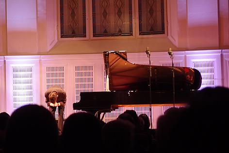 Fred Hersch im Mozartsaal des Wiener Konzerthauses