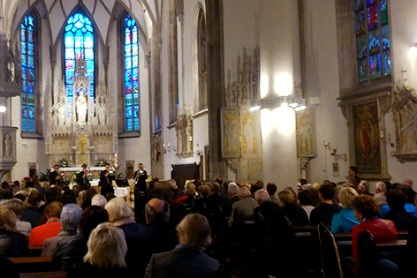 Der Karliklub St. Valentin lud zum Kirchenkonzert mit