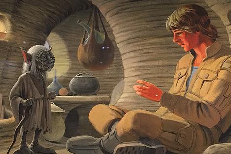 Yoda und Luke