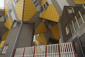 Kubushäuser von Piet Blom