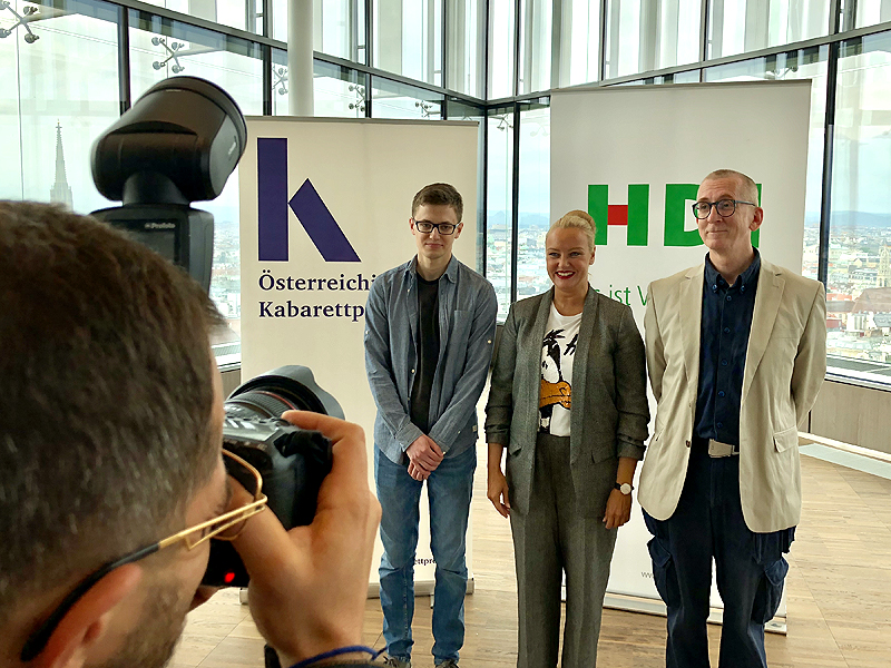 Christoph Fritz, Verena Scheitz, Gunkl