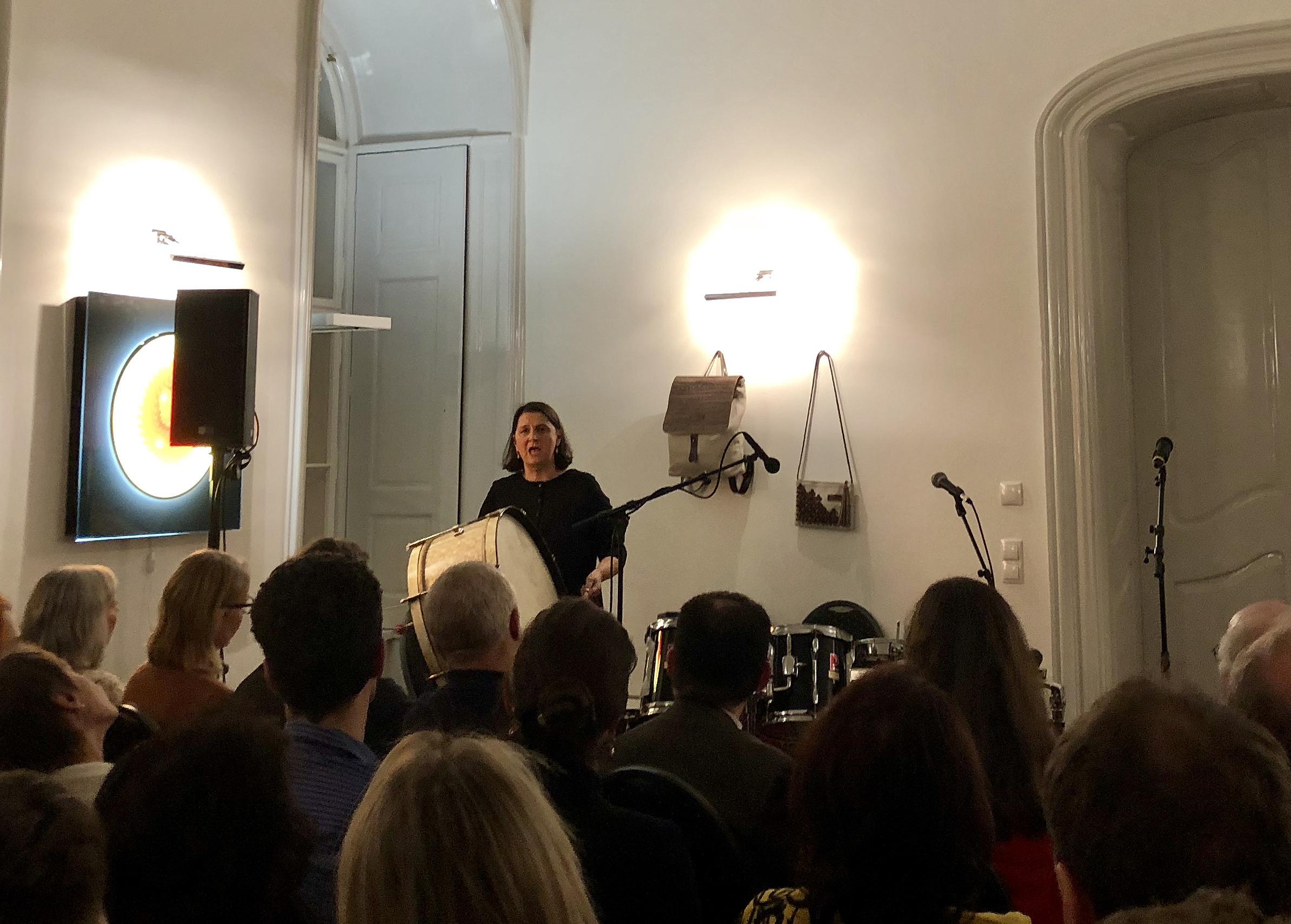 Ingrid Oberkanins bei fünften Wiener Klang-Salon