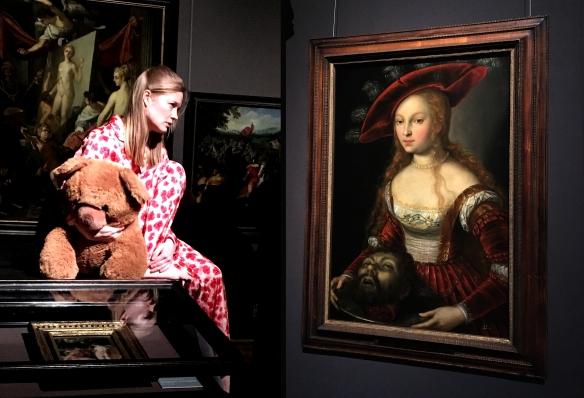 Johanna Prosl und Salome mit dem Haupt Johannes des Täufers