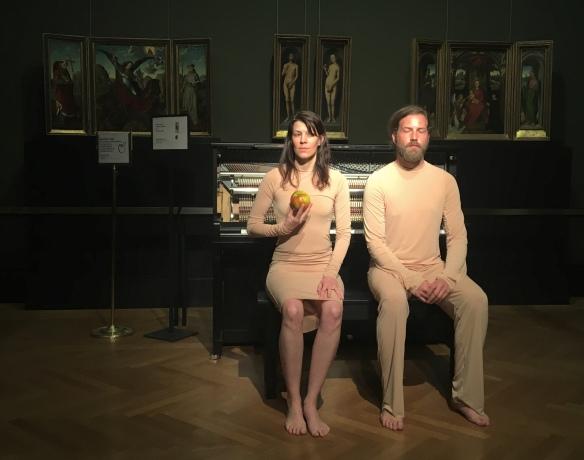 Adam und Eva alias Martin Ptak und Benny Omerzell