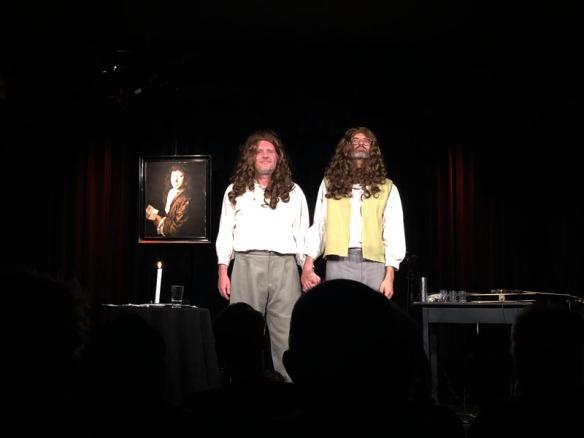Grissemann und Engelmayr im Kabarett Niedermair