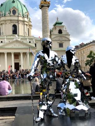 Buskers Festival Spiegelfiguren