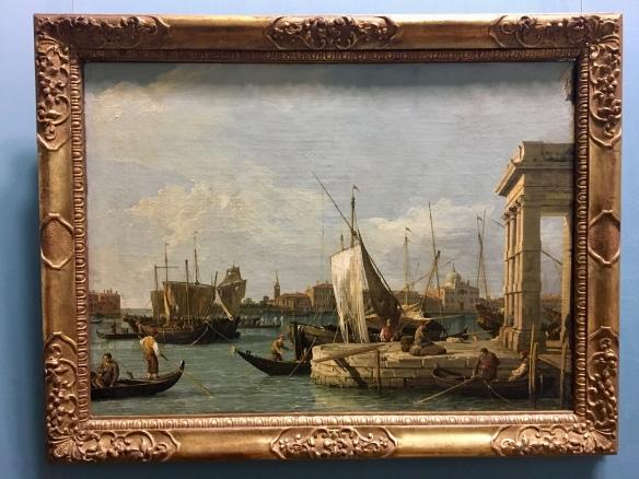 Die Dogana in Venedig, 1730